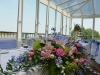 Wedding Flowers Top Table Riviera Hotel Bournemouth Wedding Venue