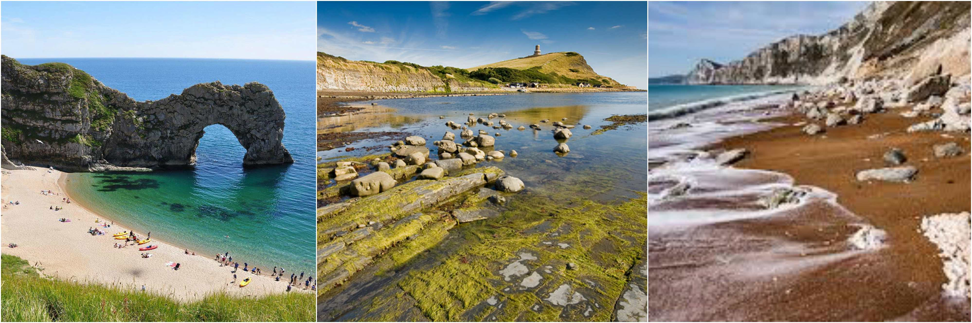 Visit Lulworth Cove Kimmeridge Ringstead Bay Durdle Door or Worbarrow Bay with its deserted village of Tyneham. : durdel door - pezcame.com