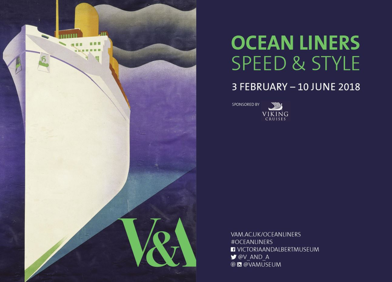 V&A Ocean Liners